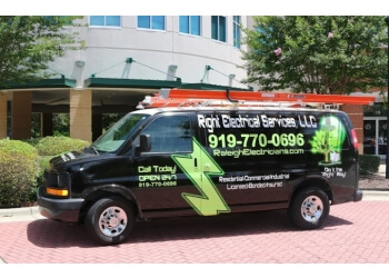 Raleigh electrician Right Electrical Services LLC