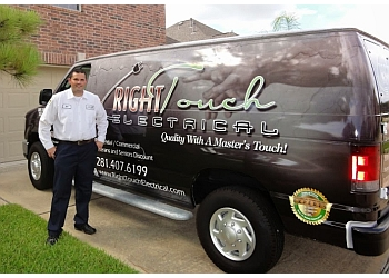 Houston electrician Right Touch Electrical, LLC