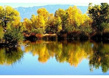 Albuquerque public park Rio Grande Nature Center State Park
