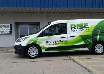Des Moines pest control company Rise Pest Control
