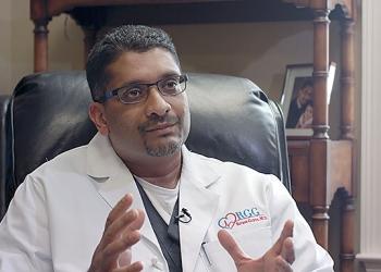 Mobile cardiologist Ritesh Gupta, MD, MPH, FACC