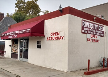 Sacramento bagel shop River City Deli and Bagels