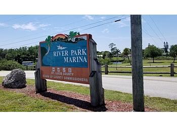 Port St Lucie public park River Park Marina