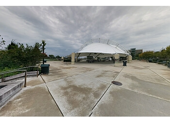 Dayton public park RiverScape MetroPark