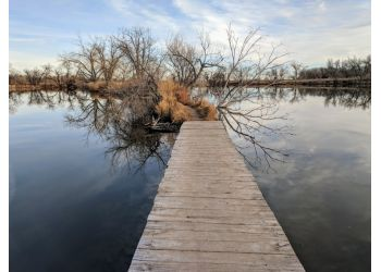 Fort Collins hiking trail Riverbend Ponds Natural Area