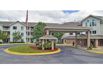 Columbus assisted living facility Riverplace