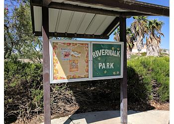 Corona hiking trail Riverwalk Park