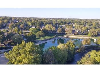 Naperville public park Riverwalk Park