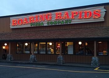 Eugene pizza place Roaring Rapids Pizza Company