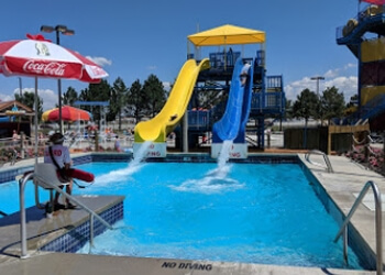 Boise City amusement park Roaring Springs Water Park