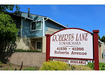 Fremont apartments for rent Roberts Lane Townhouses