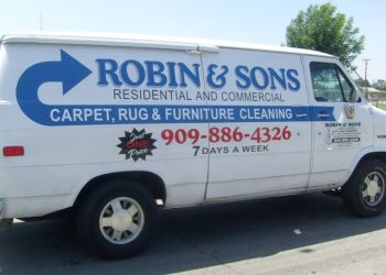 San Bernardino carpet cleaner Robin & Sons Carpet Cleaning