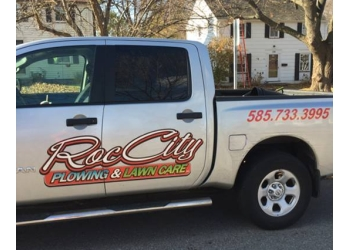 Rochester lawn care service Roc City Plowing & Lawncare Inc.