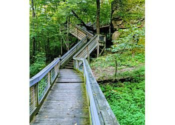 Rockford hiking trail Rock Cut State Park