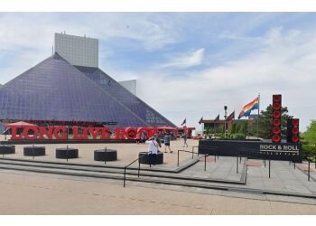 Cleveland places to see Rock and Roll Hall of Fame