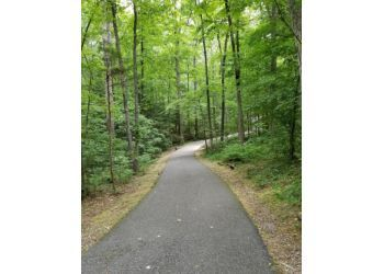 Richmond hiking trail Rockwood Park