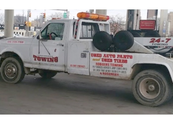 Toledo towing company Rodgers towing service