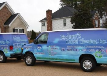 Newport News carpet cleaner Rodney's Carpet Cleaning