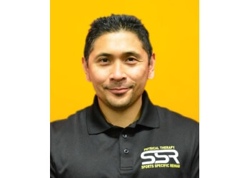 Corona physical therapist Roger Magsino, MPT, OCS