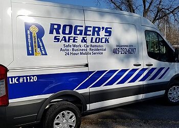 Norman locksmith Roger's Safe and Lock