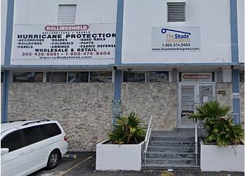 Hialeah window treatment store Rollingshield Inc.