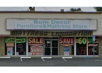 Anaheim furniture store Rom Decor