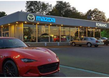 Syracuse car dealership Romano Mazda