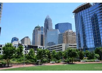 Charlotte public park Romare Bearden Park
