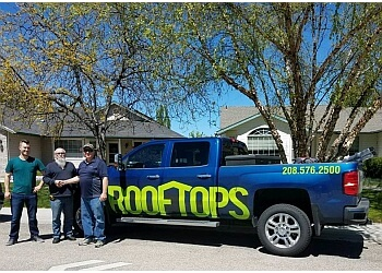 Boise City roofing contractor Rooftops Energy Solutions
