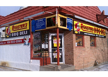 St Paul barbecue restaurant Rooster's BBQ Deli