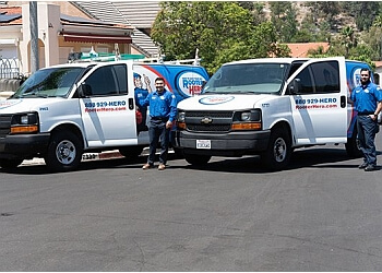 Orange plumber Rooter Hero Plumbing and Drain Cleaning Services