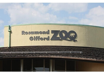 Syracuse places to see Rosamond Gifford Zoo
