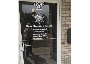 Pueblo massage therapy Rose Massage Therapy