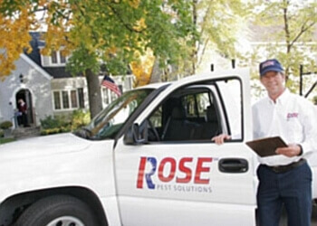Rockford pest control company Rose Pest Solutions
