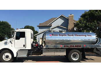 Kansas City septic tank service Rose Septic Tank Cleaning Inc.