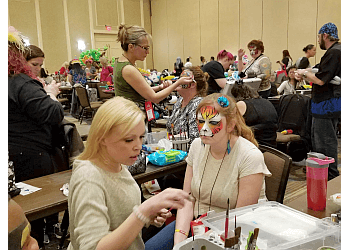 Aurora face painting Roses Happy Faces