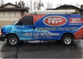 Riverside plumber Rossman Plumbing