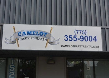Reno rental company Camelot Party Rentals