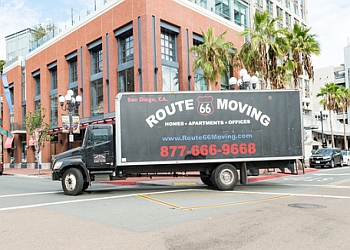 San Diego moving company Route 66 Moving and Storage