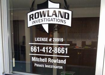 Bakersfield private investigation service  Rowland Investigations