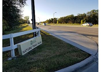 Mesquite hiking trail Rowlett Nature Trail