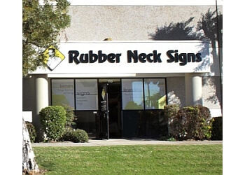 Oxnard sign company Rubber Neck Signs