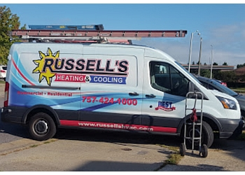 Chesapeake hvac service Russell's Heating & Cooling