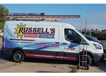 Chesapeake hvac service Russell's Heating Cooling Plumbing & Electric