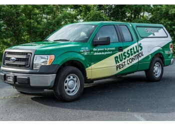 Knoxville pest control company Russell's Pest Control