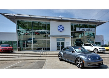 Garland car dealership Rusty Wallis Volkswagen