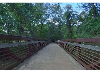 Athens hiking trail SANDY CREEK NATURE CENTER