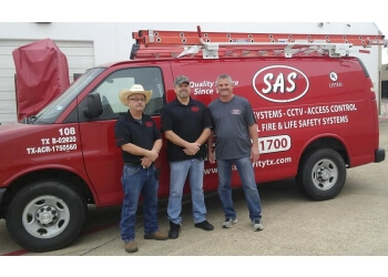 Plano security system SAS SECURITY ALARM SERVICE COMPANY, INC.
