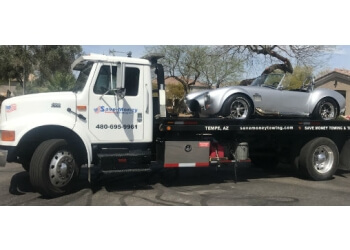 Tempe towing company Save Money Towing LLC