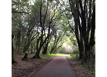 Daly City hiking trail NORTH TRAILHEAD OF SAWYER CAMP TRAIL